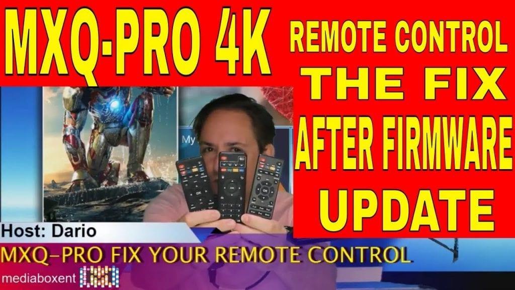 MXQ Pro Remote Controls