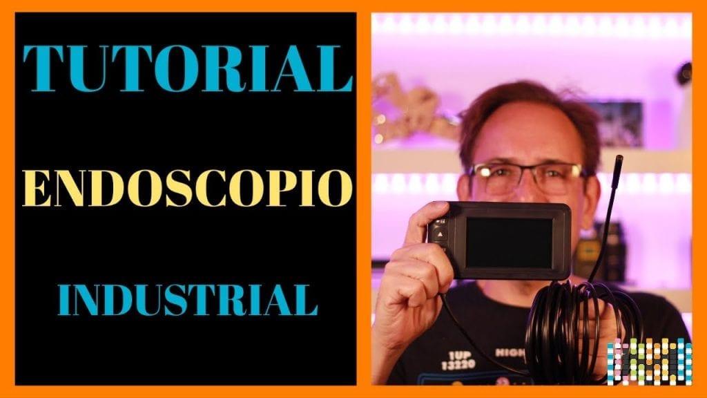 Endoscopio industrial