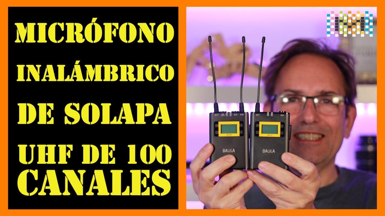 BALILA Wireless Lavalier Microphone
