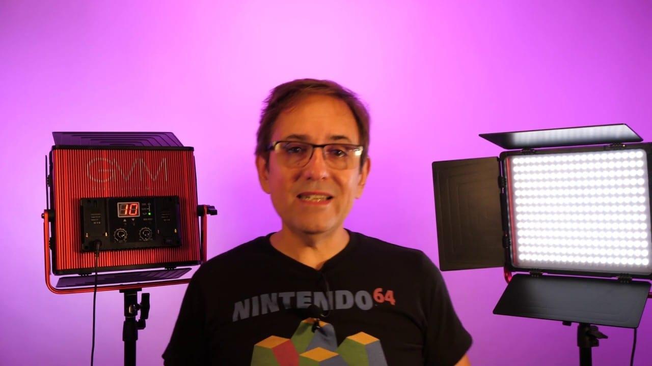 Panel de luz LED Bi-Color GVM 3200-5600K