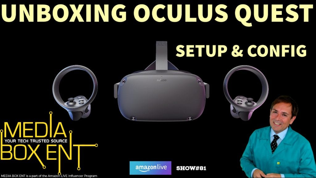 UNBOXING OCULUS QUEST