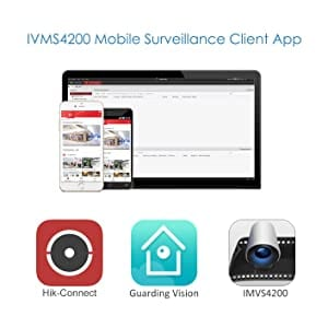 IVMS4200, Guarding Vision and HIK CONNECT APP