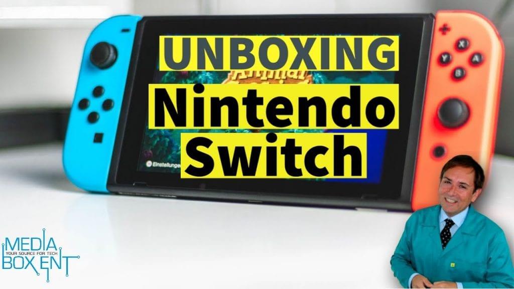 Unboxing consola Nintendo Switch