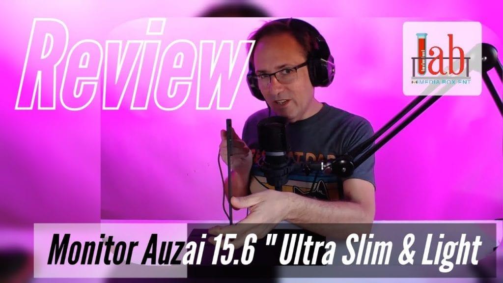 [Review] Auzai Portable Monitor 15.6-Inch USB-C Portable Display