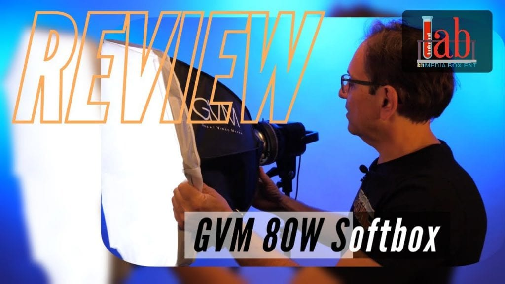 GVM 80W Continuous Output Softbox Lighting Kit with Bowens Mount