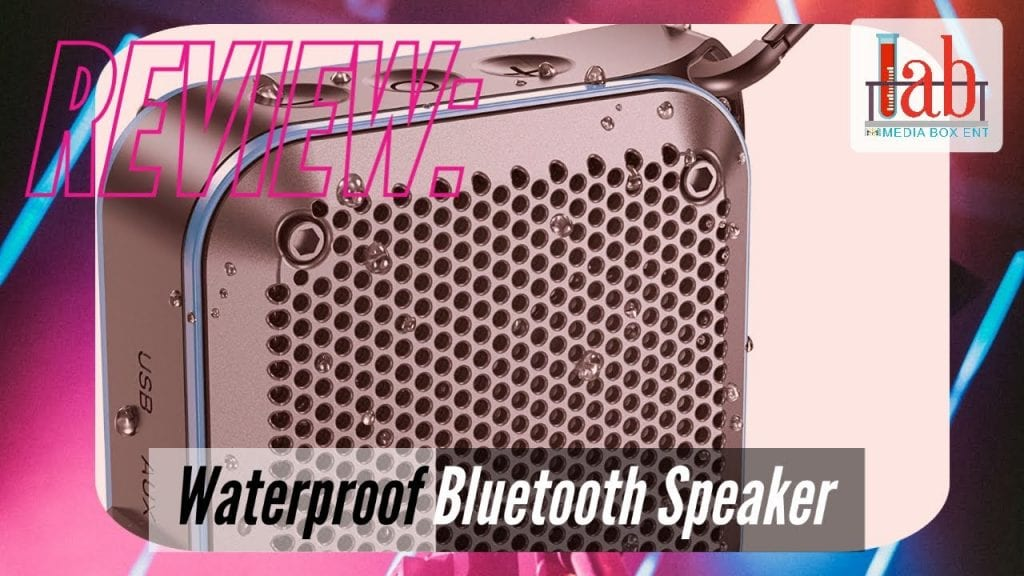 Waterproof Bluetooth Portable Wireless Outdoor Speaker