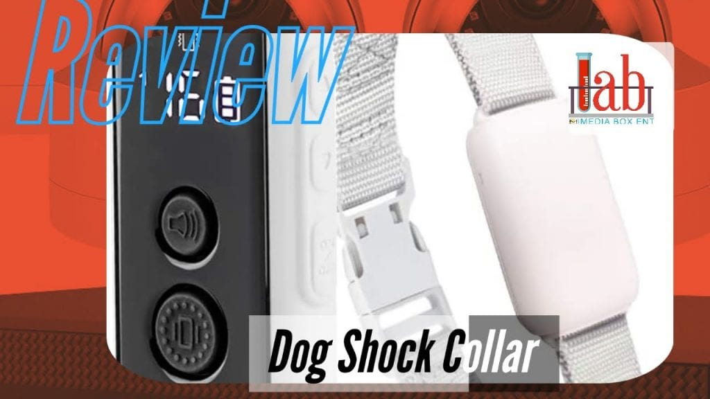 Dog Shock Collar for Dogs 1000FT Waterproof Dog Training Collar with 3 Training Modes