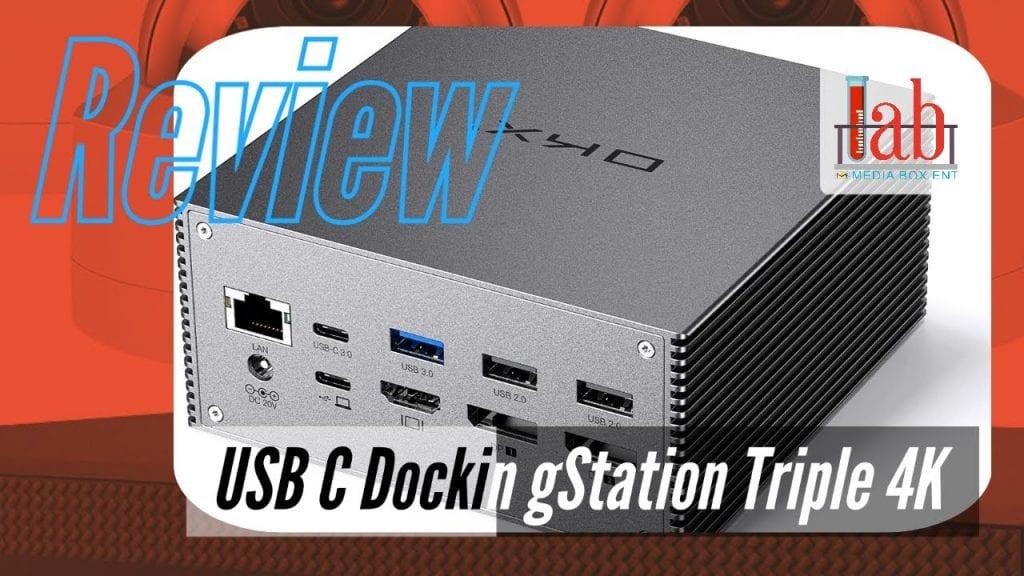 USB C Docking Station Triple 4K Extended