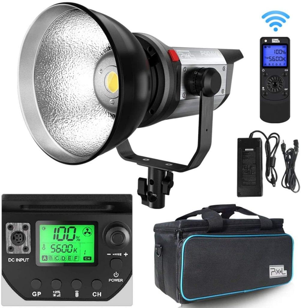 pixel LED video light studio
