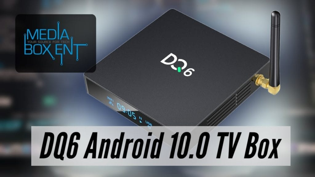 Tutorial: Caja DQ6 Android 10.0 4K 32gb