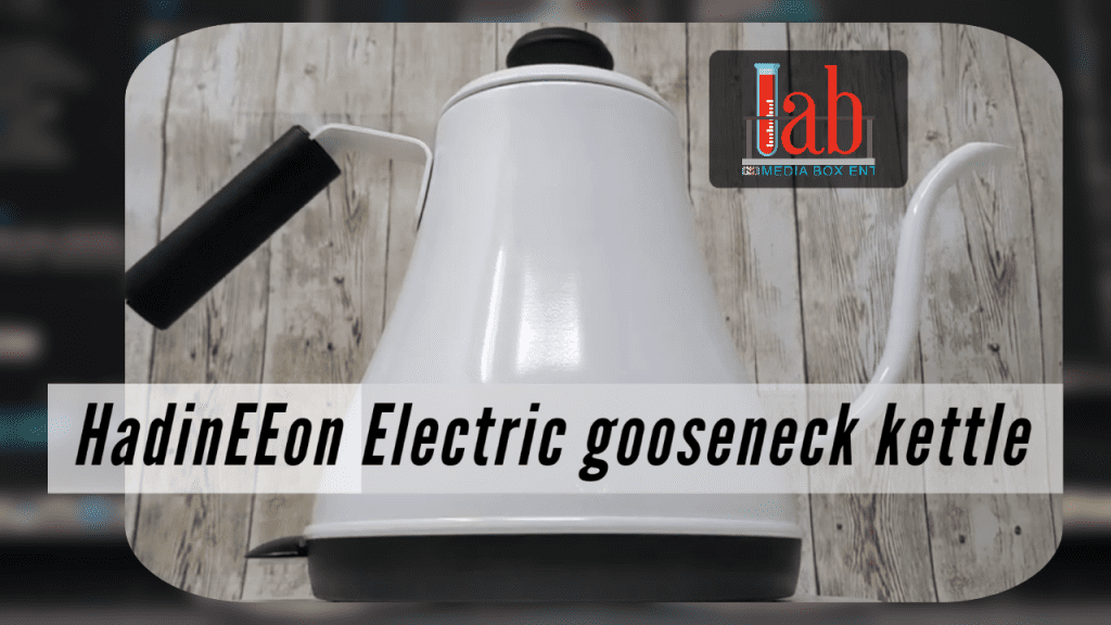 HadinEEon Electric gooseneck kettle