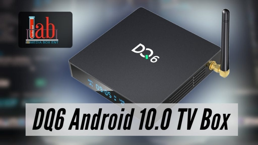 DQ6 Android 10.0 TV Box 4GB RAM 32GB ROM