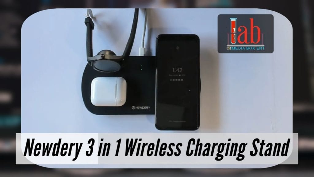 Newdery Wireless Charging Triple Station