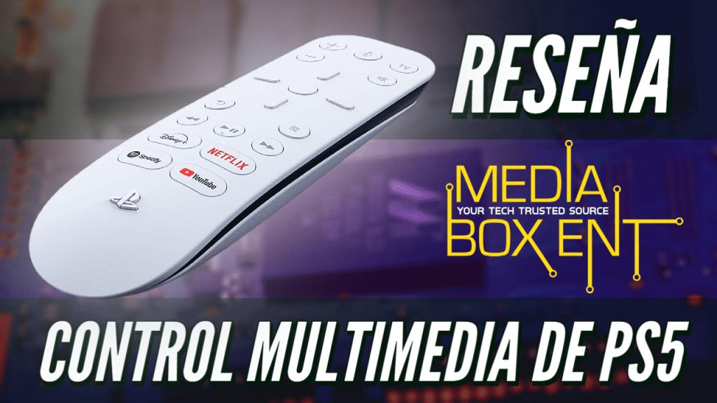 Reseña: Control Multimedia de PlayStation 5