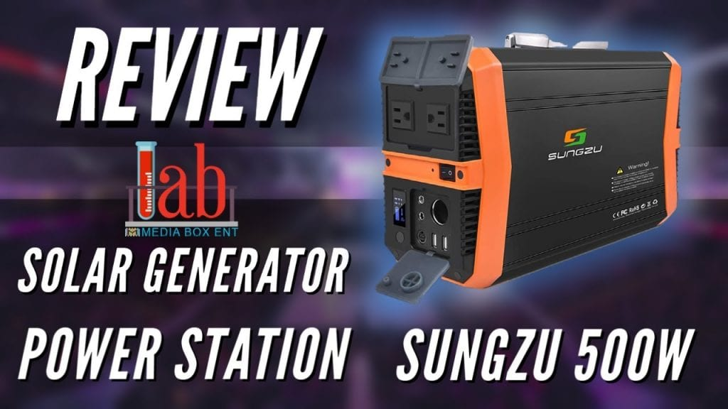 REVIEW: Solar Generator Portable Power Station 500 watt