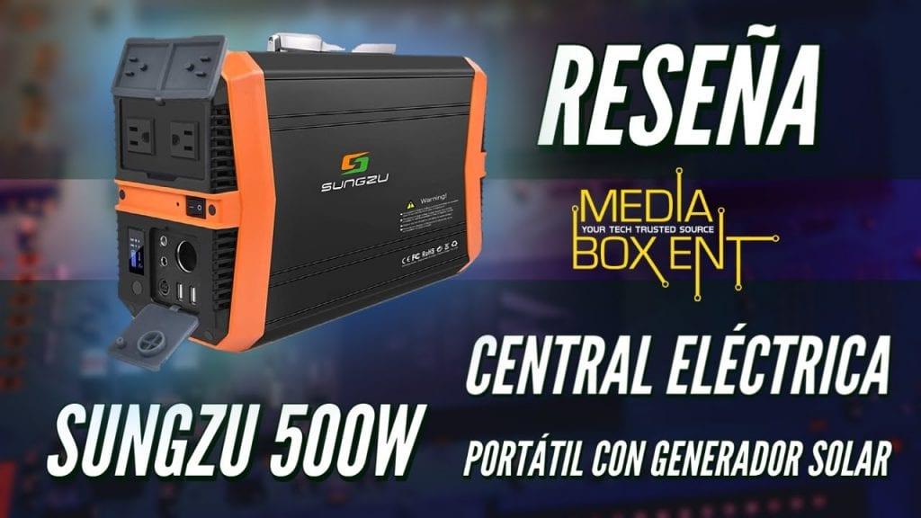 RESEÑA: Generador electrico portátil de 500 vatios