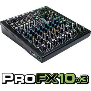 ProFX10v3 con