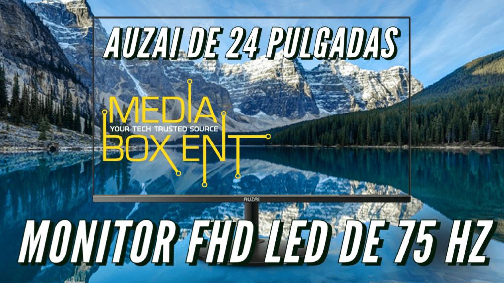 Monitor LED AUZAI 1080p FHD de 24 pulgadas