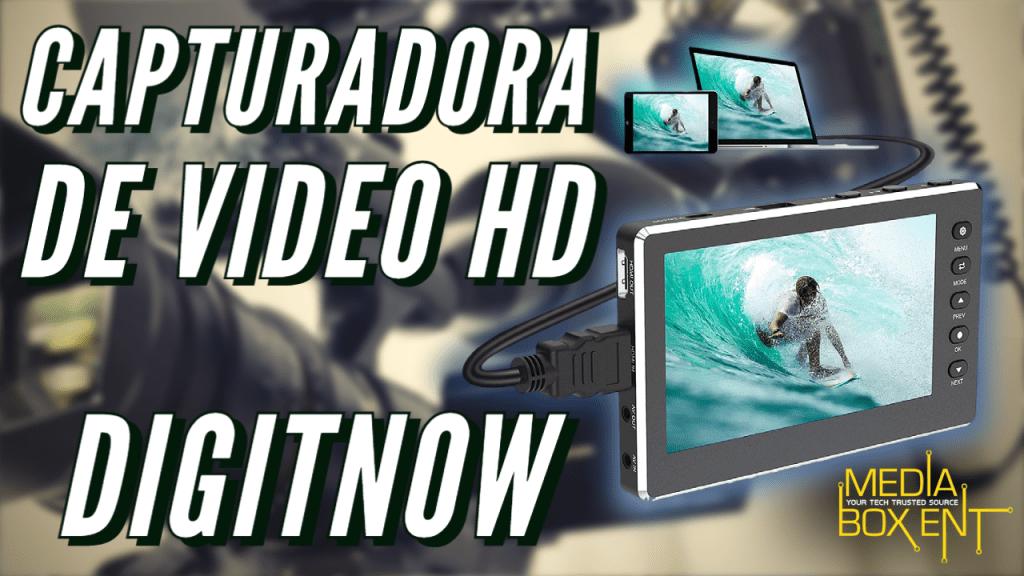 Capturadora de video DIGITNOW HD – Unboxing y review esp