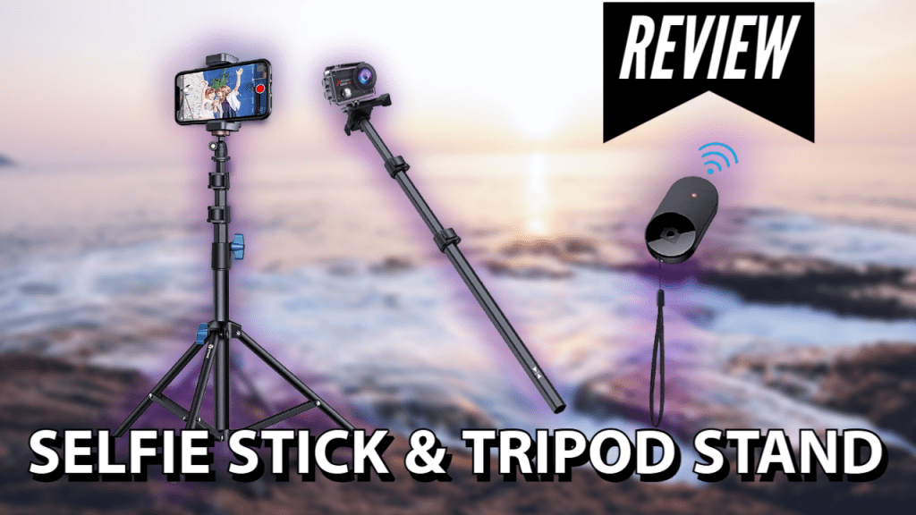 Andobil 62'' Selfie Stick Tripod Stand with Bluetooth Remote