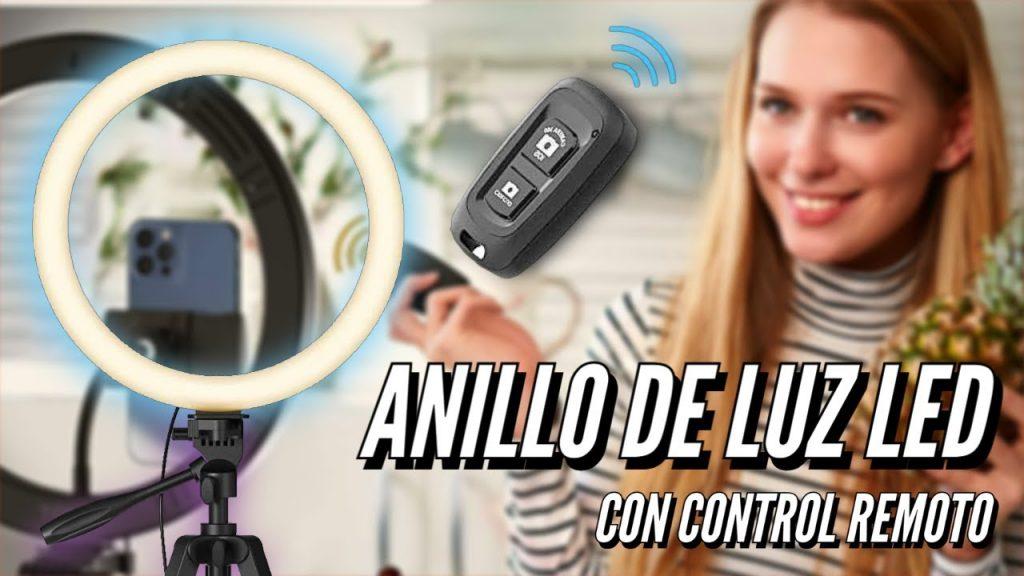 Aro de Luz LED de 12″ Tonor – Con control remoto para regular temperatura e intensidad