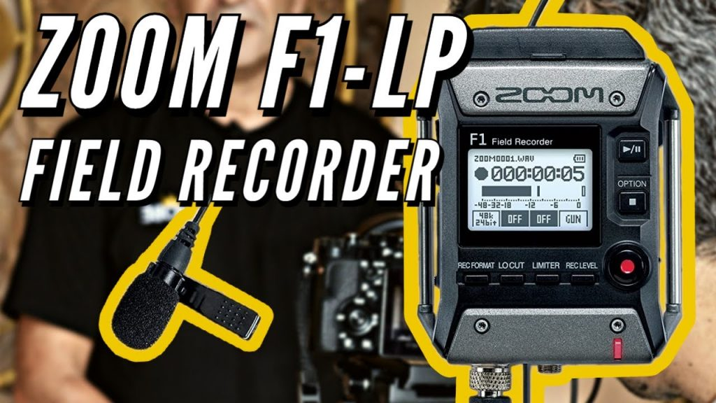 How to set up the Zoom F1 and start recording – Field Recorder