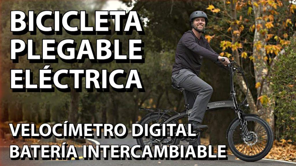 Bicicleta eléctrica populo