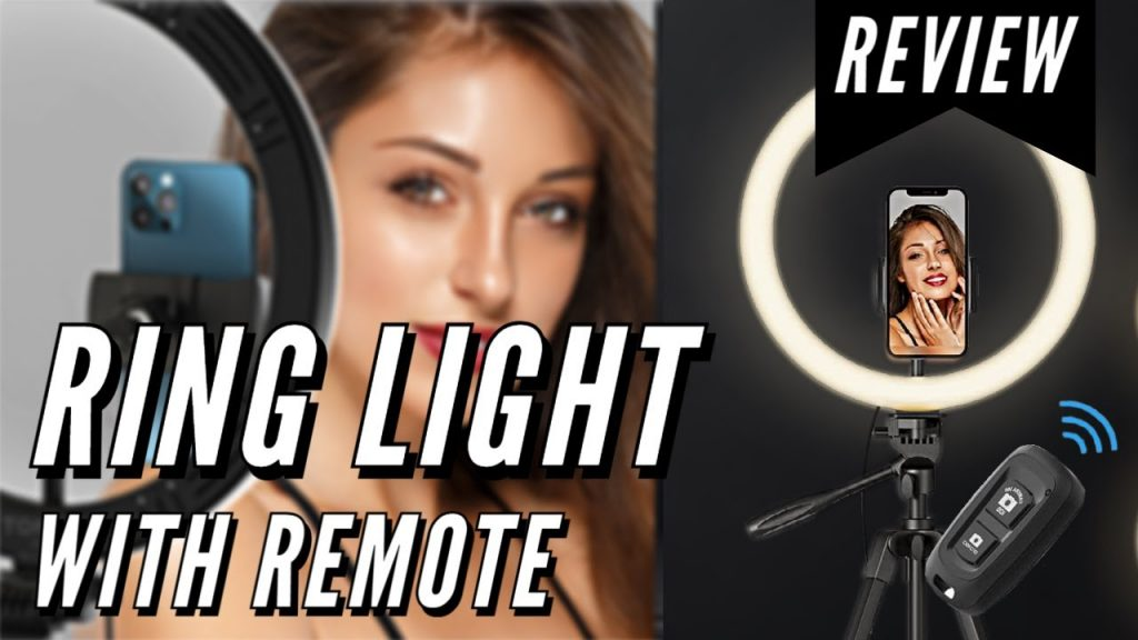 Ring light with remote and stand (2700K – 6500K) | Review 2021