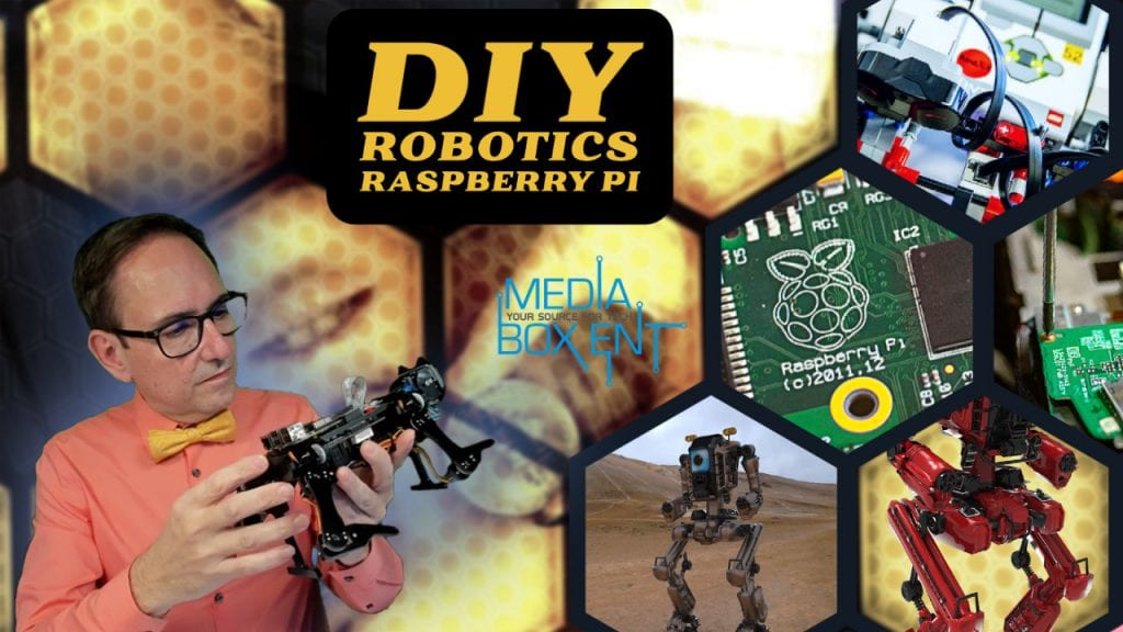 DIY Robotics Raspberry pi