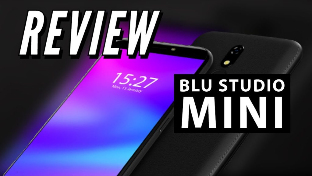 "BLU Studio Mini Smartphone   Unboxing   5.5 ""display with dual SIM"