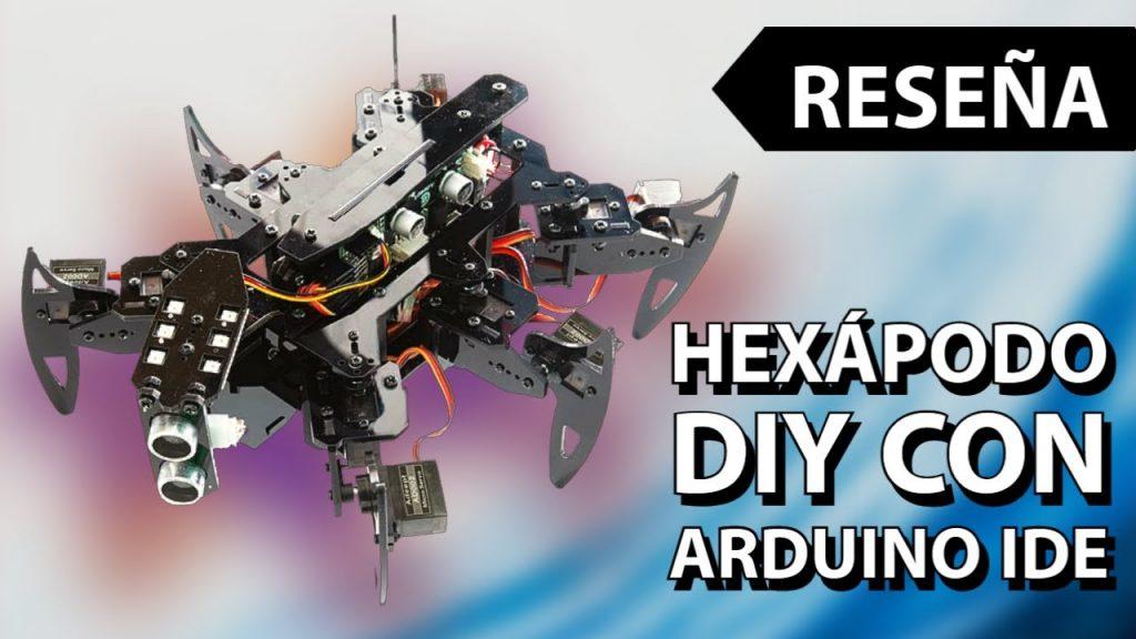 Araña hexápodo con Arduino IDE – Reseña