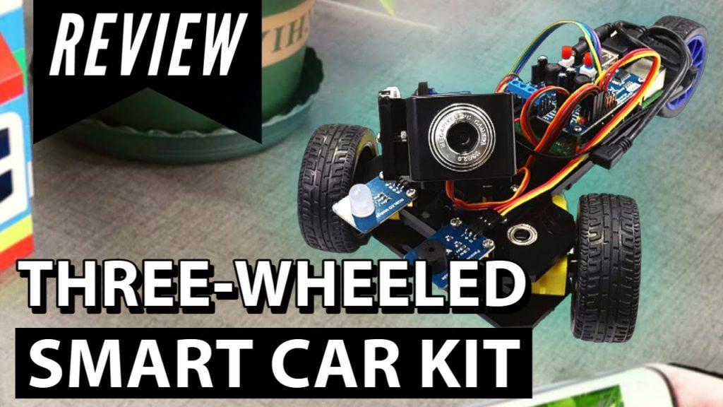 Three-wheeled Car Kit for Raspberry pi | Unboxing
