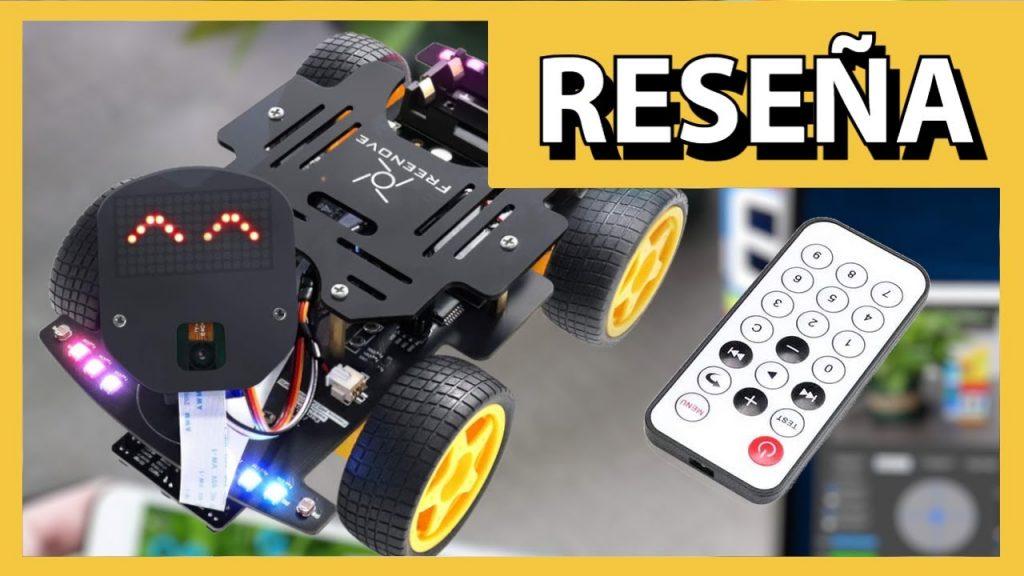 Automóvil 4WD DIY con WiFi y Bluetooth para ESP32 | Reseña