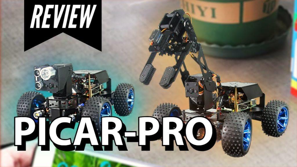 Picar-Pro | Smart Robot Car for Raspberry Pi | Unboxing