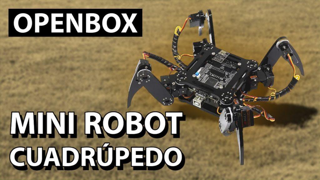 Araña Robótica Cuadrúpeda con Manual Completo Paso a Paso