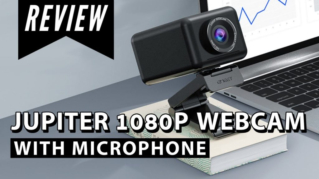 Jupiter Webcam w/ Mic and Speaker | 1080P All-in-One | Unboxing & Review