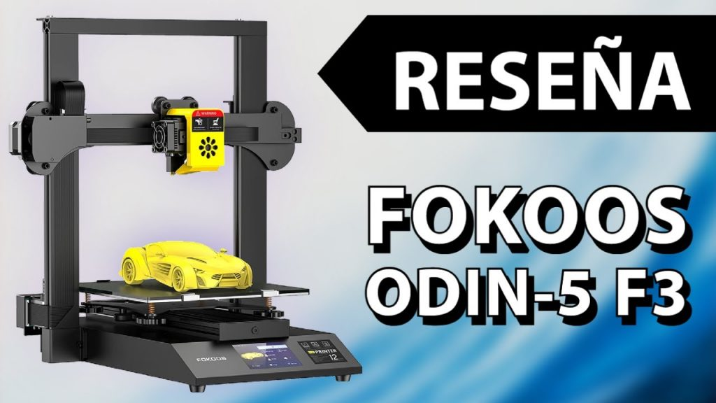 Impresora 3D Plegable | FOKOOS Odin-5 F3 | Reseña