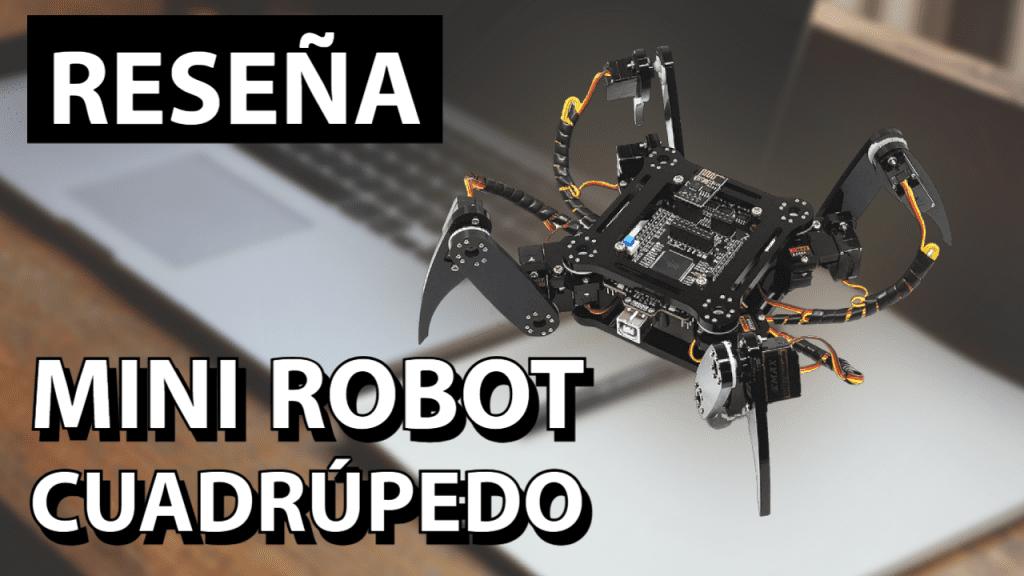Freenove Quadruped Robot Kit REVIEW ES