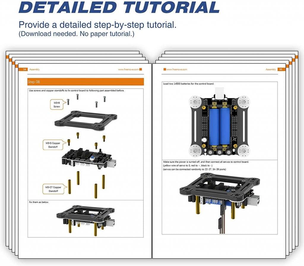 Freenove-Quadruped-Robot-Kit-detailed-tutorial