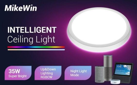 MikeWin-Smart-LED-Ceiling-Light-Fixtures-header