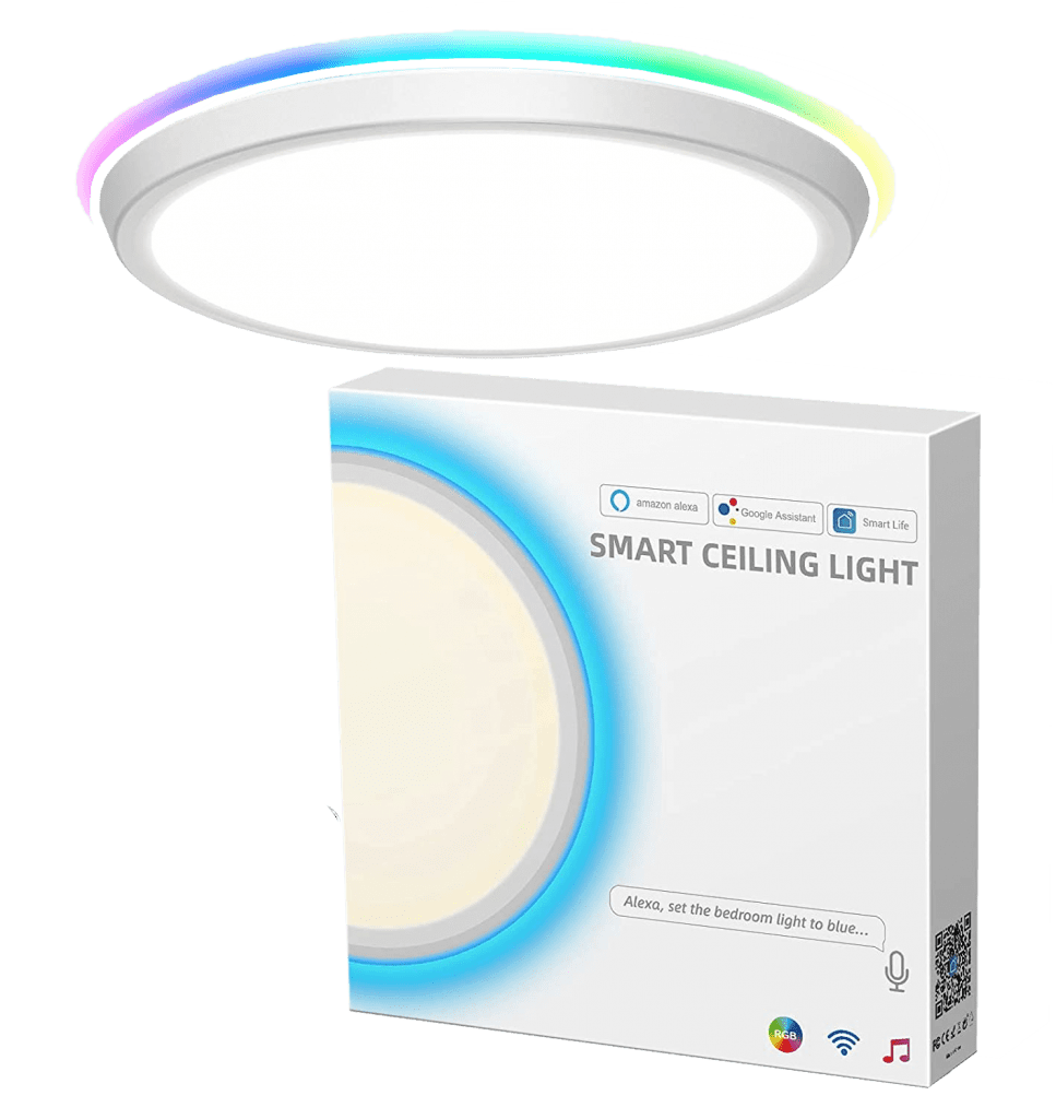 MikeWin-Smart-LED-Ceiling-Light-Fixtures-only