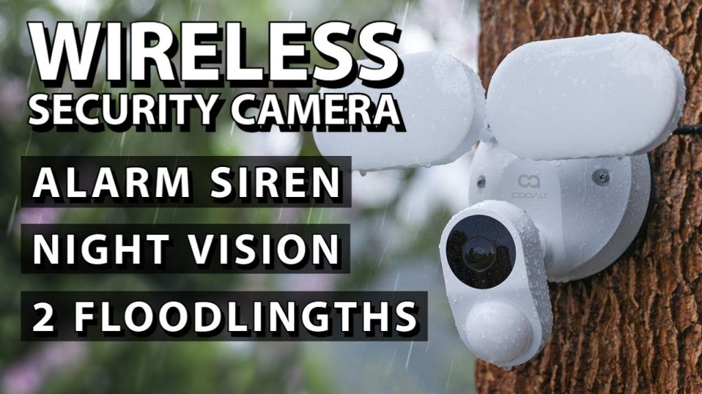 Security Camera with lights and night vision | Home Security system | Review