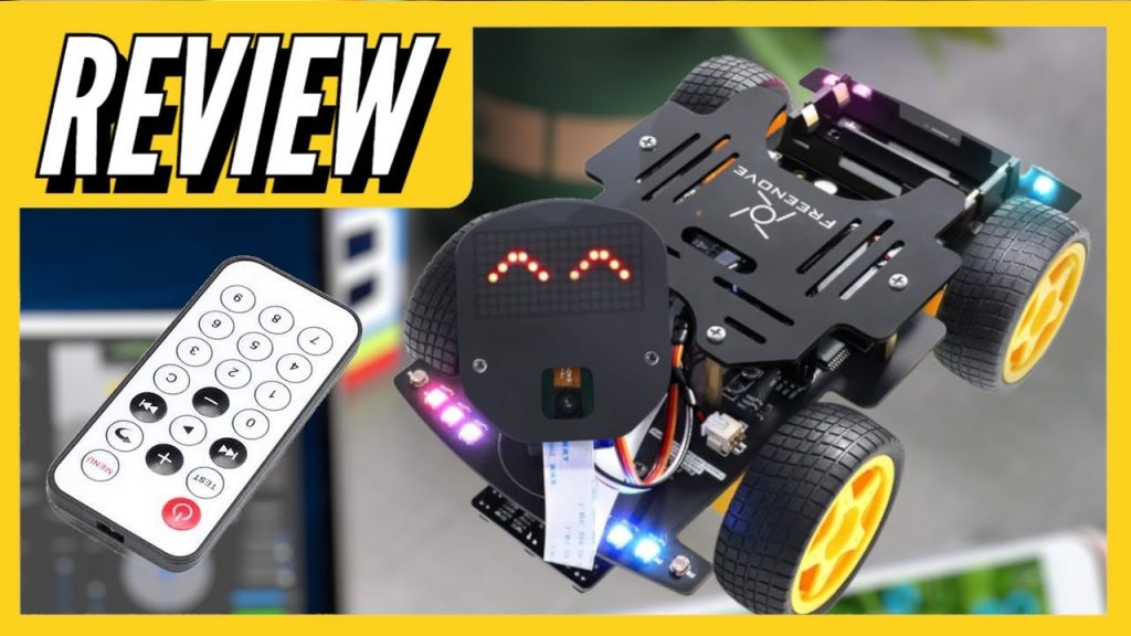 DIY 4WD Car with Wi-Fi and Bluetooth | Review