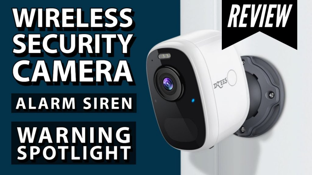 Security camera with night vision and siren alarm | 5 months rechargeable battery | Review
