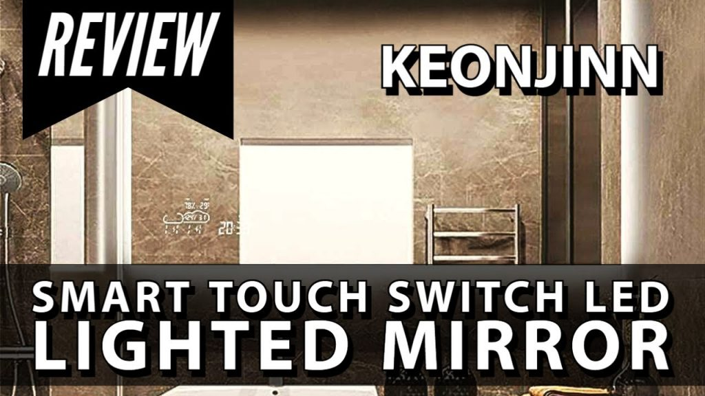 Smart Mirror with Touch Sensor | Review