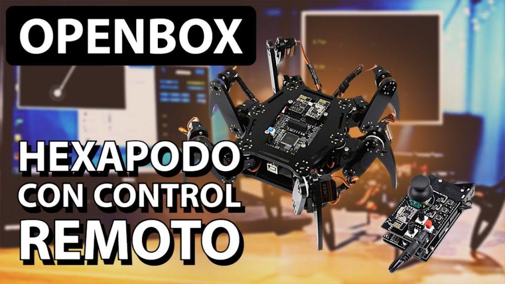 Araña Hexápodo con Control Remoto   UNBOXING