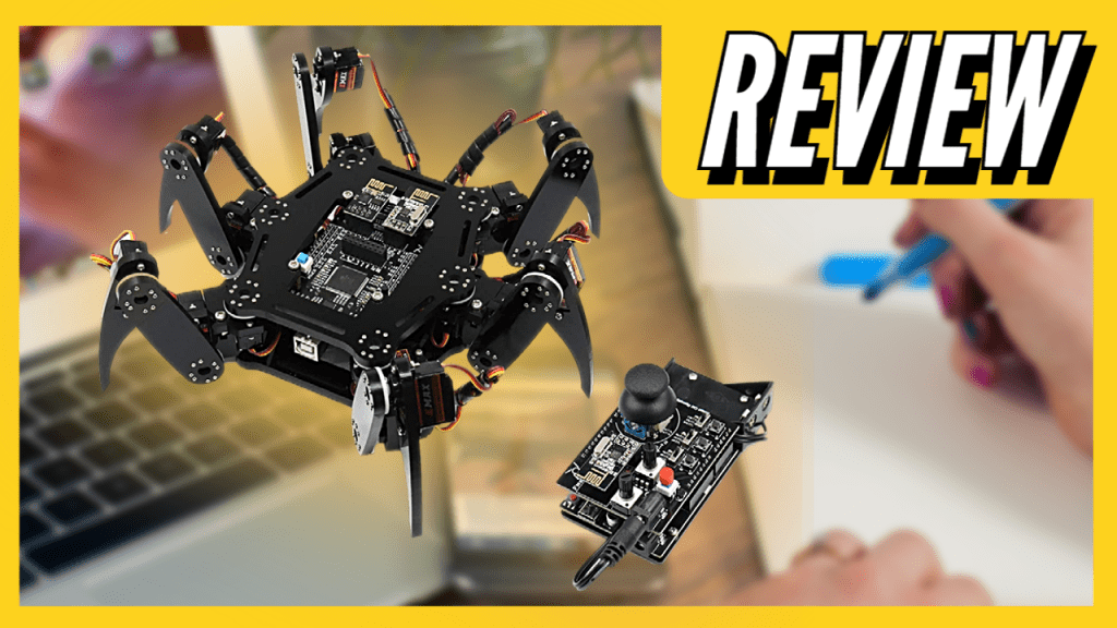 Hexapod Spider with Remote Control | Compatible With Arduino IDE | REVIEW