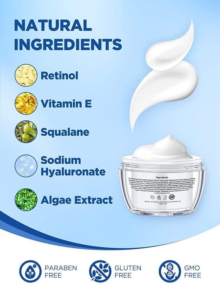 Retinol-Cream-natual-ingredients