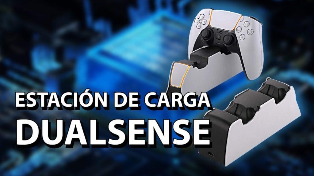 Accesorio indispensable para tu Playstation 5 | Estación de carga DualSense