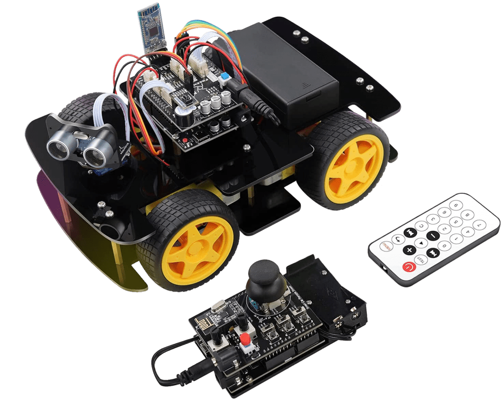 FREENOVE-4WD-Car-Kit-with-RF-Remote